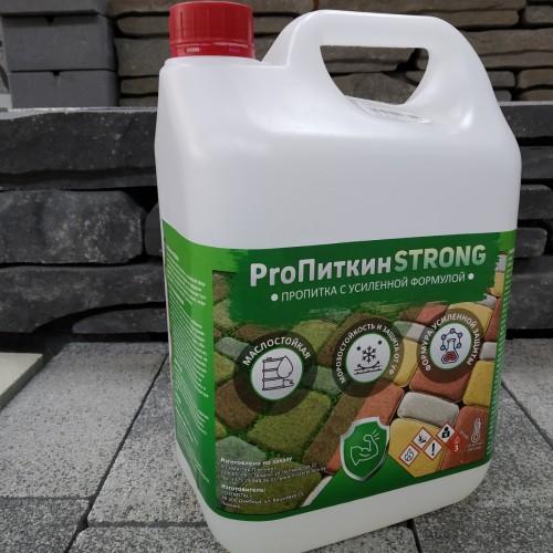 Пропитка (импрегнат) для тротуарной плитки и камня ProПиткин STRONG с усиленной формулой