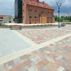 Урбаника 60 колормикс - тротуарная плитка Побрук (Polbruk)