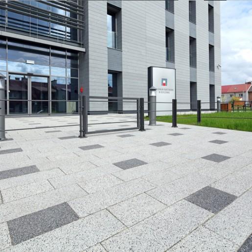 Урбаника 60 с крошкой - тротуарная плитка Побрук (Polbruk)